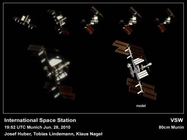 Volksternwarte München ISS Tracking